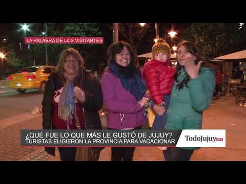 Turistas en Jujuy ¿Qué fue lo que más les gustó de la provincia?
