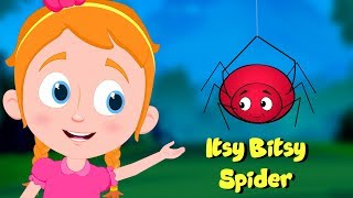 Itsy Bitsy Spider | Schoolies Cartoon Videos | Nursery Rhymes For Kids