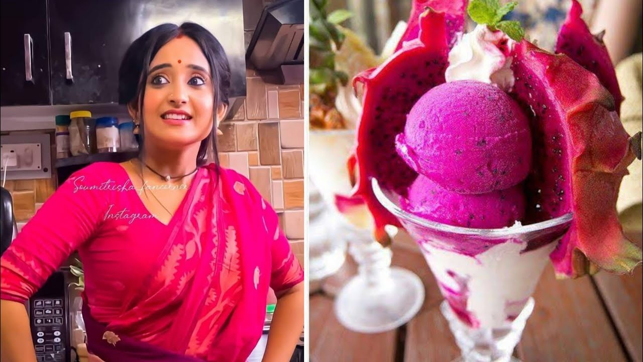 Mithai❤❤Same💕color combination 💕Dress with💕Ice-cream 💕