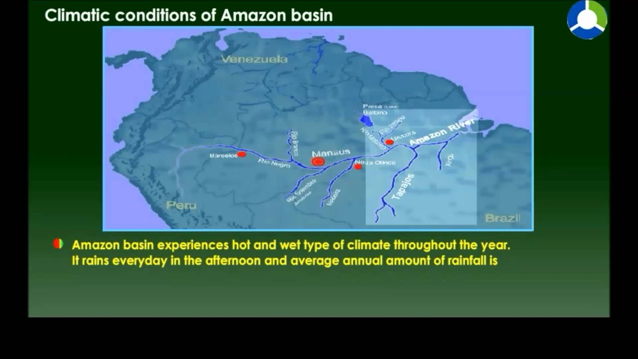 Climatic conditions of amazon basin youtube gumiabroncs Gallery