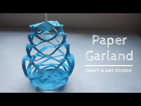 How to Make Garland with Paper? Paper Garland Ideas