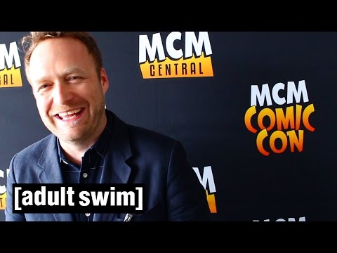 Jackson Publick hears your questions at Comic Con | Venture Bros | Adult Swim
