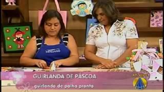 DECON PROGRAMA SABOR DE VIDA: GUIRLANDA DE PÁSCOA