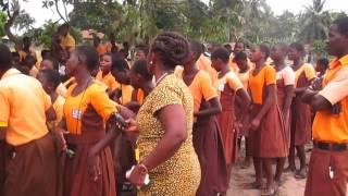 Welcome to volunteers at Rema Abutia School in Ghana