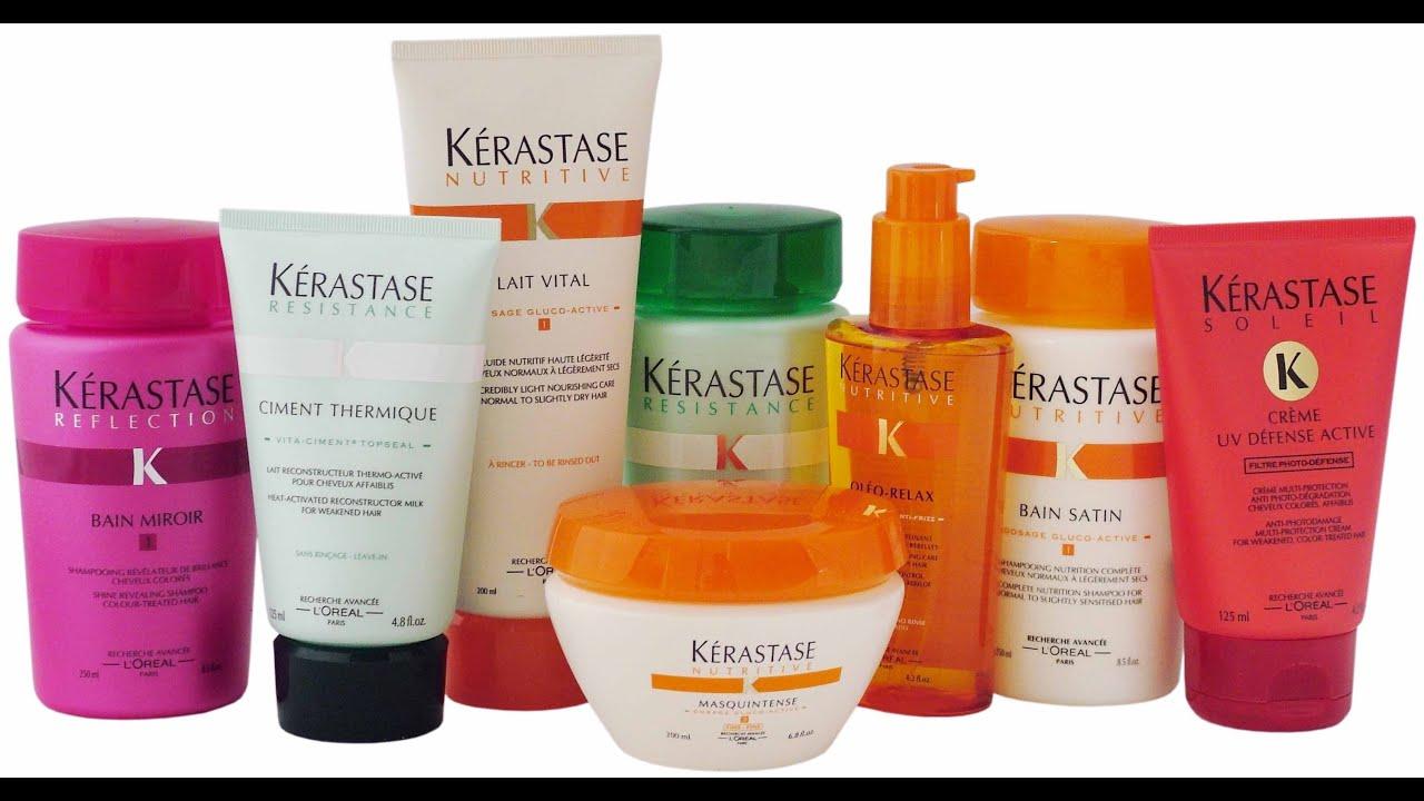 Mis ltimos productos kerastase youtube for Salon kerastase