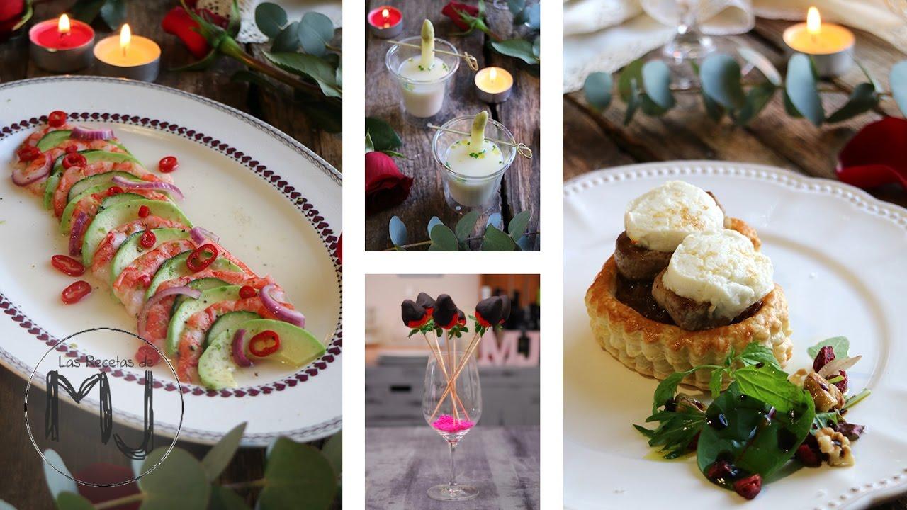 Men para una cena rom ntica especial san valent n youtube - Cena romantica menu casa ...
