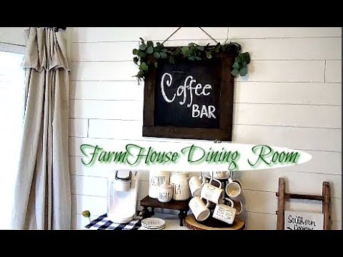 FARMHOUSE DINING ROOM TOUR / FARMHOUSE DECOR