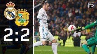 Bale-Rückkehr einziger Lichtblick: Real Madrid - Fuenlabrada 2:2 | Highlights | Copa Del Rey | DAZN