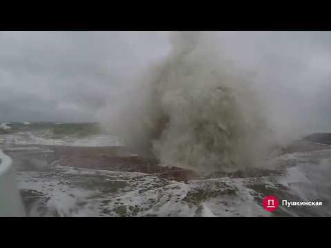 Шторм изнутри или как в Одессе бушует море