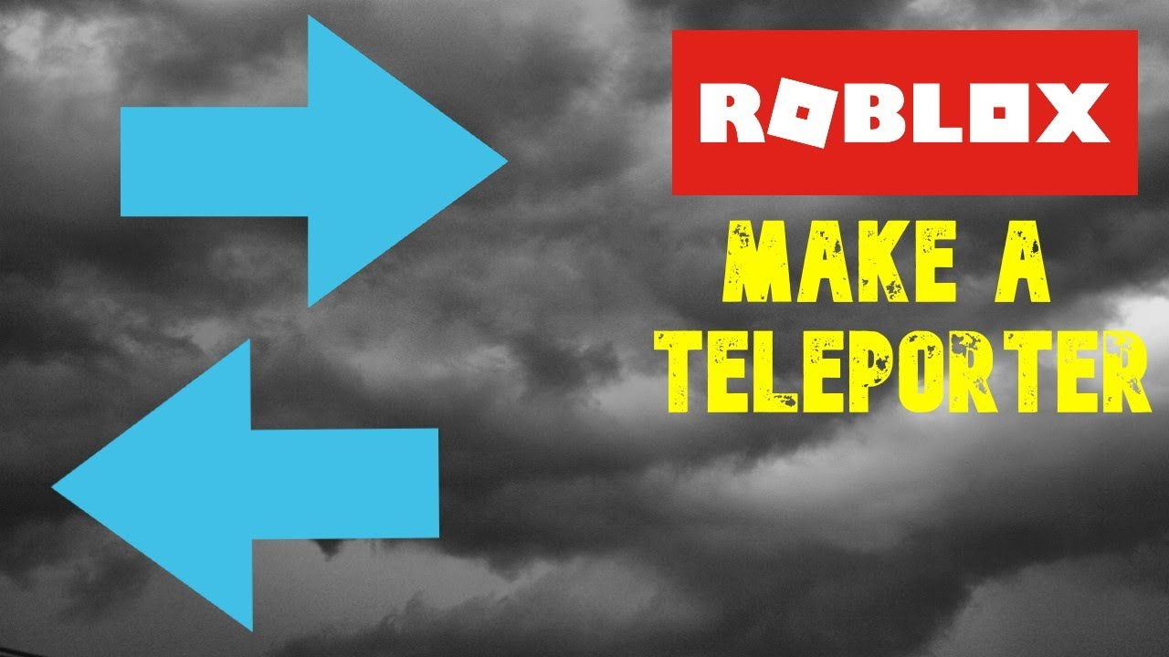 How To Make A Teleporter Pad In Roblox Studio 2020 Youtube