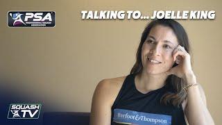 Squash: Talking To... Joelle King