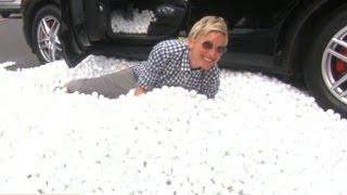 Matt Lauer Gets Revenge on Ellen DeGeneres With Epic Car Prank