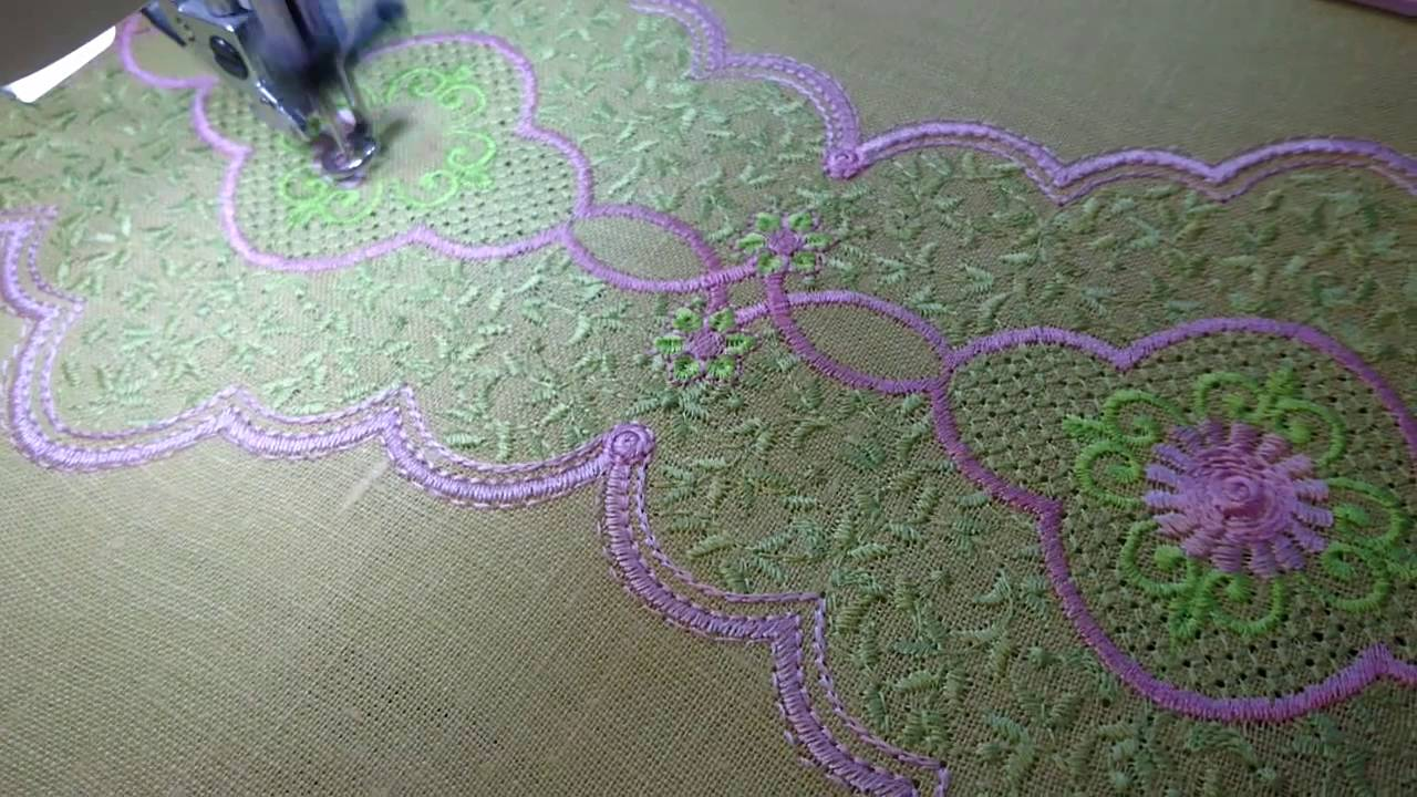 Machine Embroidery Design Lace Border By Royal Present Embroidery
