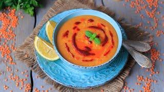 Крем суп из чечевицы — видео рецепт