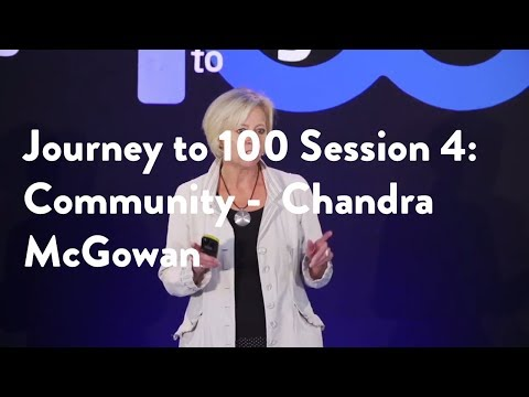 Journey to 100 Session 4: Community -  Chandra McGowan [Functional Forum]