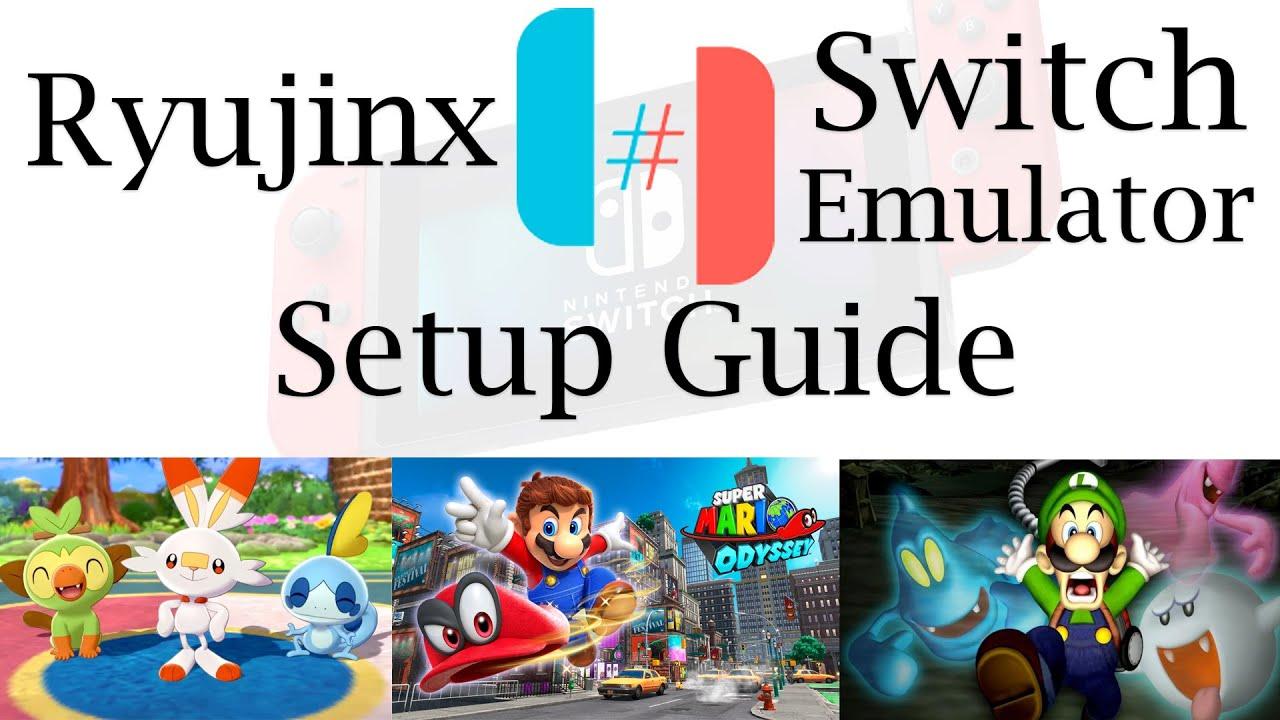 Download Ryujinx Complete Setup guide! | Nintendo Switch Emulator