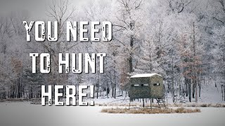 THE BEST HUNTING EXPERIENCE IN THE COUNTRY FOR THE WINTER SEASON | APPLE CREEK WHITETAILS RANCH