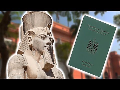 Ramses II - The Mummy Who Had To Get A Passport
