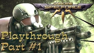 Chrome: Special Force [SpecForce] Walkthrough #1 [HD]