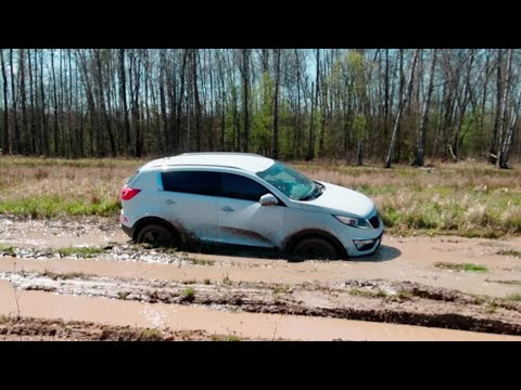 KIA Sportage бросил вызов джипам! Нива, Renault Duster, Jeep Grand Cherokee, Nissan X-trail, и др.