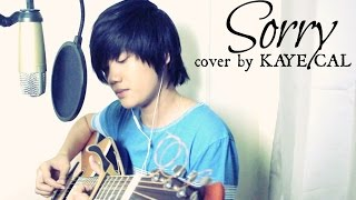 Sorry Justin Bieber KAYE CAL Acoustic Cover.mp3