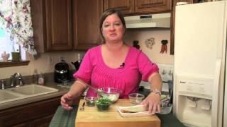 Chicken Salad Sandwich With Herb Cream Cheese Recipe : Kickin' Chicken Recipes