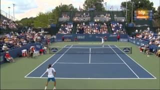Sam Querrey vs Alexandr Dolgopolov (ATP 250 Winston Salem 2012) 1/2