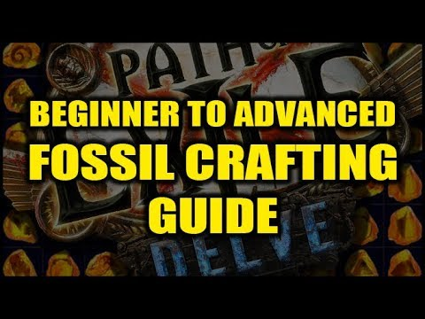 Path of Exile Delve: Fossil Crafting Guide - Beginner's Basics to Advanced  PoEDB Crafting