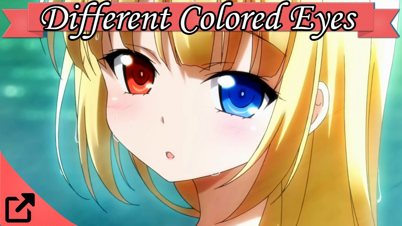Anime Characters One Eye : Top anime characters with different colored eyes youtube