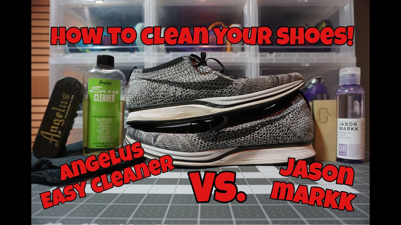 how to clean shoes using jason markk