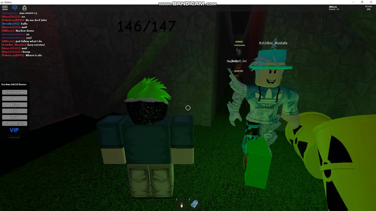 Domo Me Roblox Find The Domos Nuclear Domo Youtube