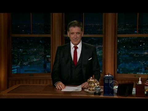 Late Late Show with Craig Ferguson 7/27/2012 Vince Vaughn