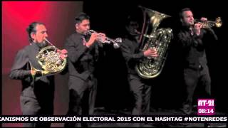 M5 Mexican Brass festeja su décimo aniversario