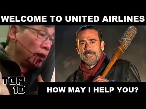Thumbnail: Top 10 United Airlines Funniest Memes