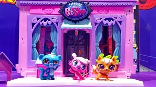 Littlest Pet Shop Toys Playset Minka Mark Kitery Banter & Sunil Nevla ★ Lps Toys For Kids Worldwide