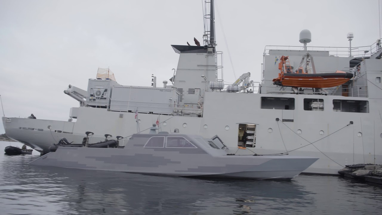 U.S. + Swedish Navies • Enhance Maritime Interoperability • 11 Nov – 2020