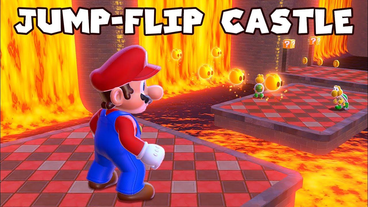Super Mario 3D World's Insane Jump-Flip Castle Challenge