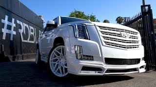 #RDBLA INSANE ESCALADE, JAKE PAUL LAMBORGHINI WITH CEILING STARS