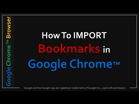 import html bookmarks into chrome android