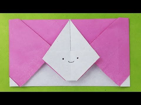 Easy origami envelope tutorial | Diy Paper Envelope-envelope ideas-Without Glue or Tape-paper crafts