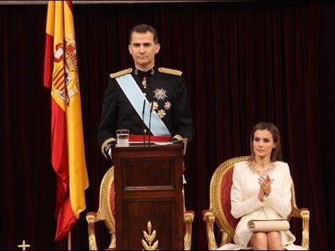 Mensaje de S.M. el Rey en su proclamación ante las Cortes Generales