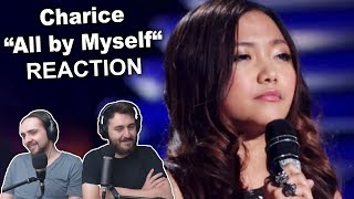"""""""Charice - All by Myself"""" Singers Reaction"""
