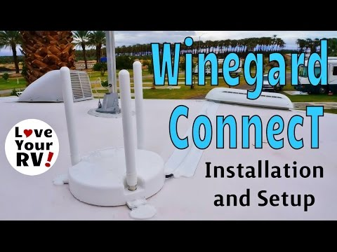 Winegard ConnecT WiFi RV Extender Installation