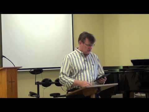 CCBA English Sermon 08-11-13 -- Pastor Bill Jenkins