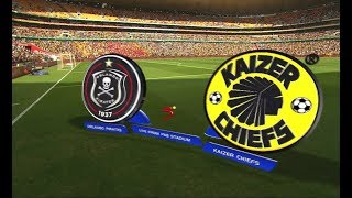 Absa Premiership 2017/18 - Orlando Pirates vs Kaizer Chiefs
