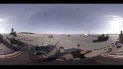 360° : Répétition véhicules défilé armée de terre à Brétigny sur Orge
