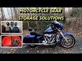 Harley-Davidson Motorcycle Gear Storage Solutions