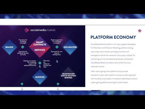 SocialMedia.Market ($SMT ICO Token Sale), First Blockchain Online Advertising Platform
