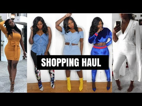 BADDIE ON A BUDGET TRY-ON HAUL | TOP PLACES TO SHOP ONLINE 2017