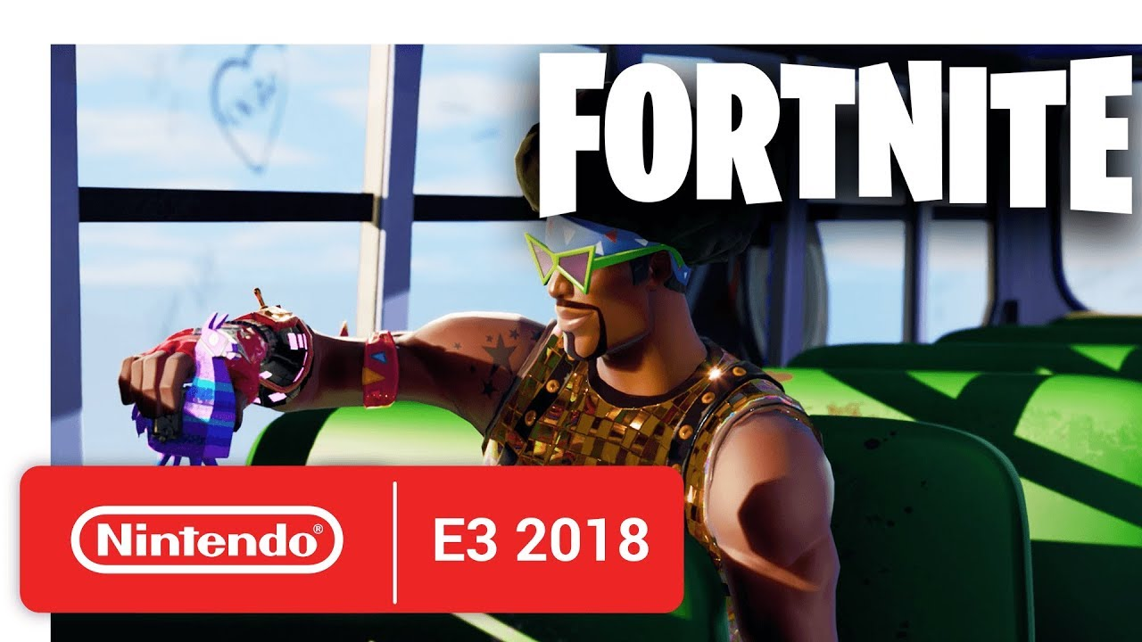 Fortnite - Nintendo Switch Trailer - Nintendo E3 2018
